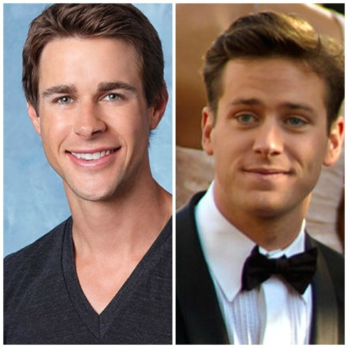 armie hammer and robert lookalike